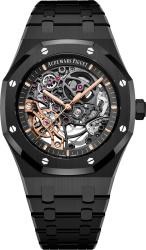 Audemars Piguet Black Skeleton Royal Oak Watch