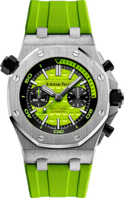 Audemars Piguet Neon Green Royal Oak Offshore Diver