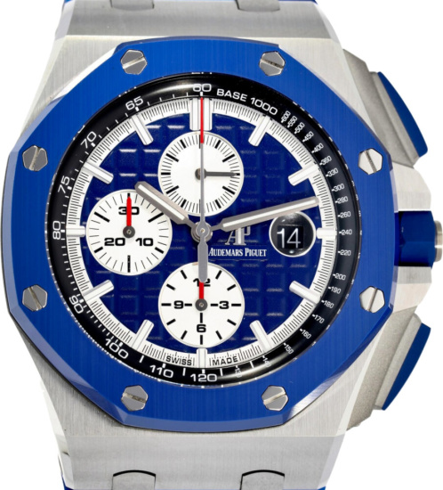 Audemars Piguet Royal Oak Offshore Limited Edition Blue Camo