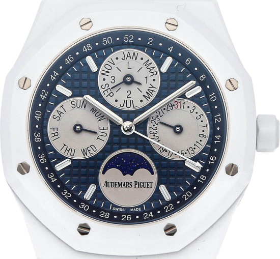 Audemars Piguet White Ceramic Royal Oak