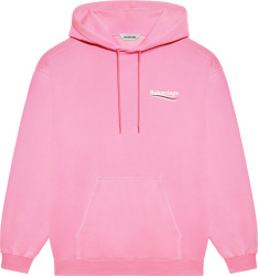 Pink 'Political Campaign' Hoodie