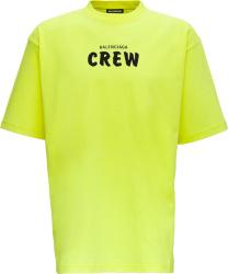 Yellow 'Crew' T-Shirt