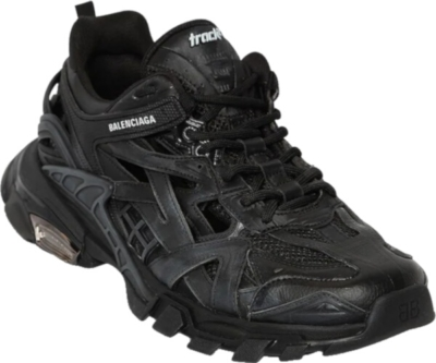 Balenciaga All Black Track 2 Sneakers