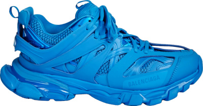 Balenciaga All Blue Track Trainers