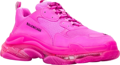 Balenciaga All Pink Triple S Sneakers