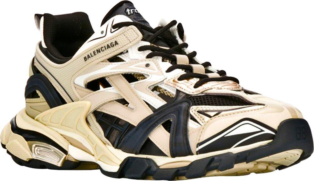 Balenciaga Beige Track2 Sneakers