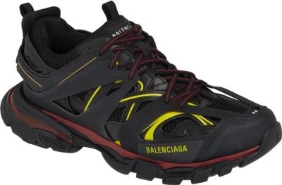 Balenciaga Black Bordeaux Track Sneakers