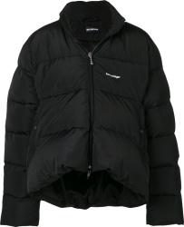 Balenciaga Black C Shape Puffer