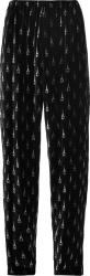 Balenciaga Black Eiffel Tower Print Belour Pants
