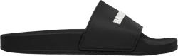 Balenciaga Black Rubber Slides