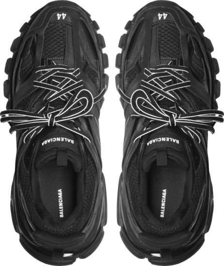 Balenciaga Black Track Cage Sneakers