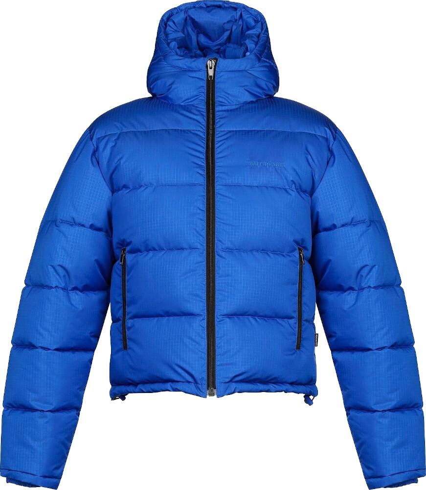 Balenciaga Blue Puffer Jacket