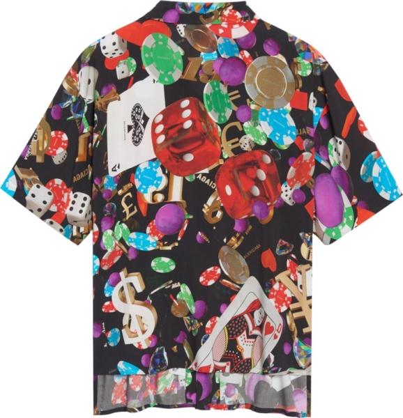 Balenciaga Casino Print Shirt