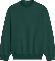 Balenciaga Dark Green Sweatshirt