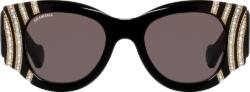 Balenciaga Embellished Sunglasses