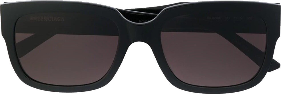 Balenciaga Eyewear Bb0049s Square Frame Sunglasses