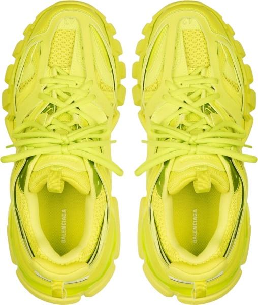 Balenciaga Lime Track Sneakers