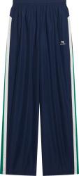 Balenciaga Navy Blue And Green Sporty B Trackpants