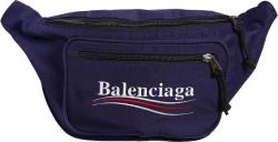 Balenciaga Navy Explorer Belt Bag