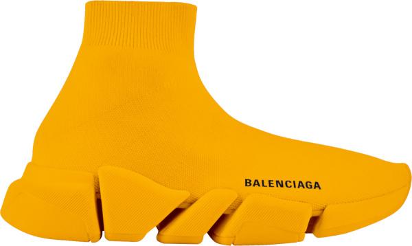 Balenciaga Orange Speed Sneakers