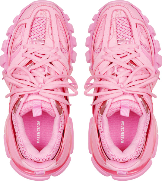 Balenciaga Pale Pink Track Trainers