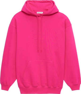 Balenciaga Pink Hoodie