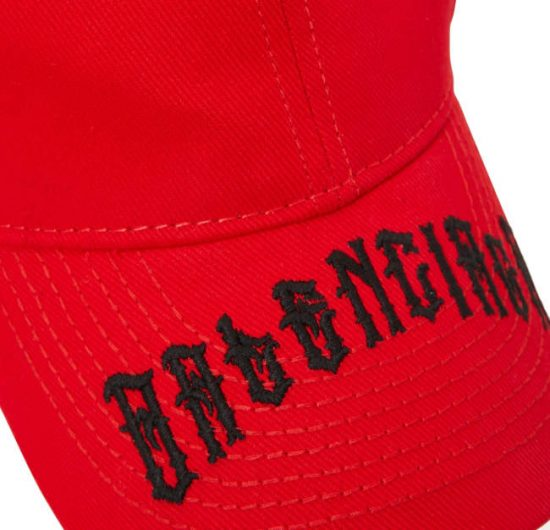e493e94d3 Balenciaga Gothic Logo Embroidered Hat | Incorporated Style