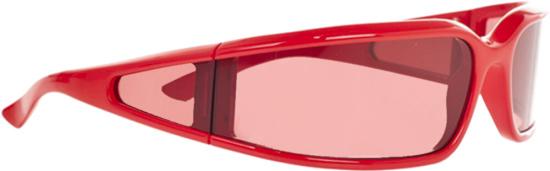 Balenciaga Red Screen Sunglasses