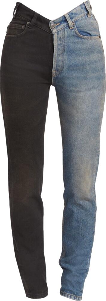 Balenciaga Two Tone Jeans
