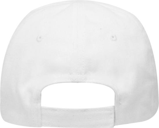 Balenciaga White And Black Logo Embroidered Hat