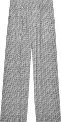 Balenciaga White Archive Letters Wide Leg Pants 658901tkl441070