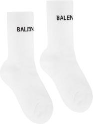 Balenciaga White Tennis Socks