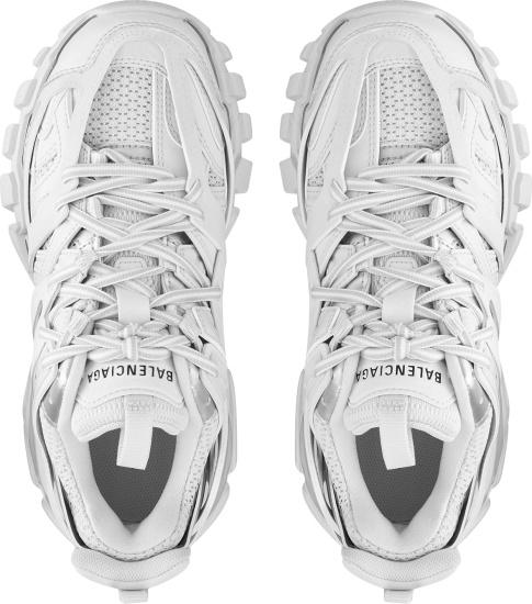 Balenciaga White Track Running Sneakers