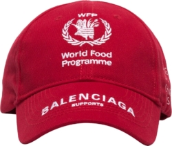Balenciaga X World Food Program Red Hat