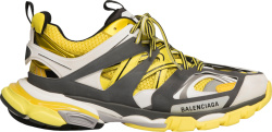 Balenciaga Yellow Grey White Track Sneakers