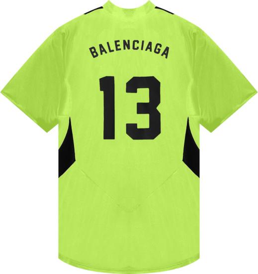 Balenciaga Yellow Soccer Jersey