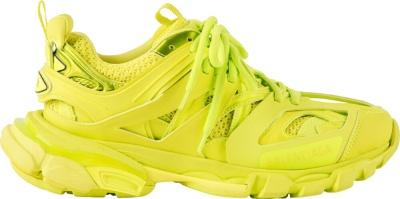 Balenciaga Yellow Track Trainer