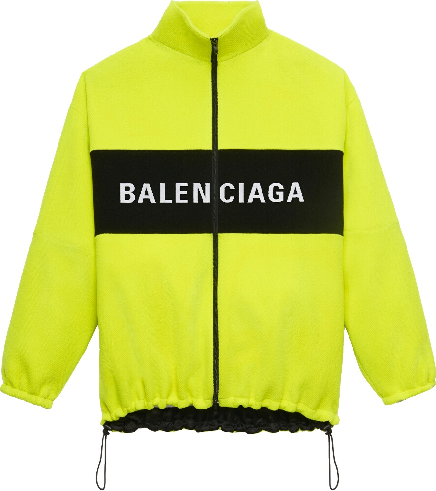 Balenciaga Yellow Zip Jacket