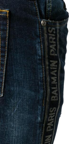 Balmain Paris Stripe Jeans