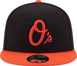 Baltimore Orioles Black Orange 59fifty