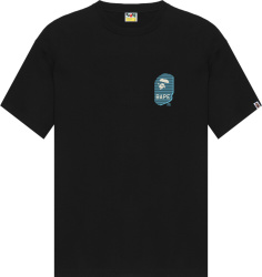 Bape Black Desert Camo Ape Head T Shirt