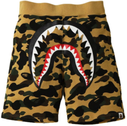 Bape First Camo Yellow Shorts Shorts Worn By Dababy