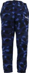 Bape Navy Blue Color Camo Jogger Sweatpants