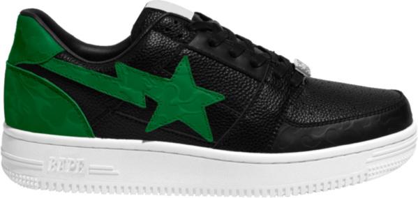 Bape X Gunna Black And Green Sneakers
