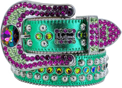 Green & Purple 'Safa' Belt