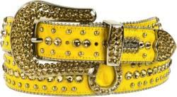 Yellow Horseshoe 'Rema' Belt