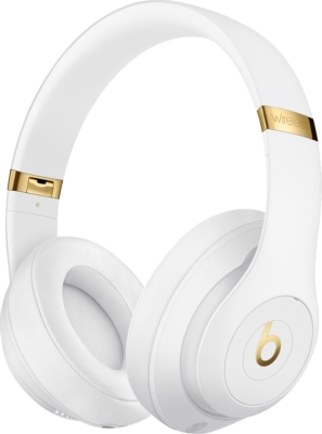 Beats By Dre Studio3 White And Gold Headphones