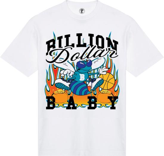 Billion Dollar Baby White Sting T Shirt