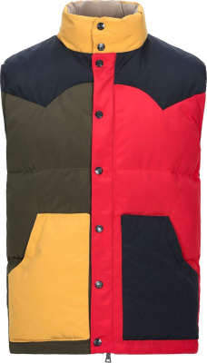 Billionaire Boys Club Colorblock Puffer Vest
