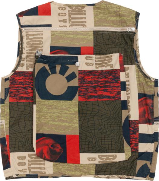 Billionaire Boys Club Patchwork Utility Vest